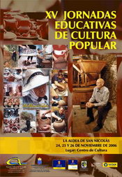 XV JORNADAS EDUCATIVAS DE CULTURA POPULAR