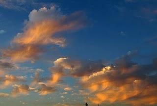 Nubes de mi Aldea de San Nicolás