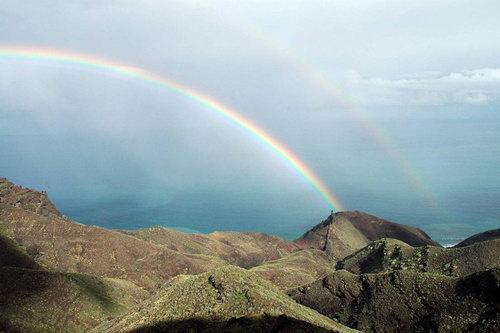 arco iris aldeano